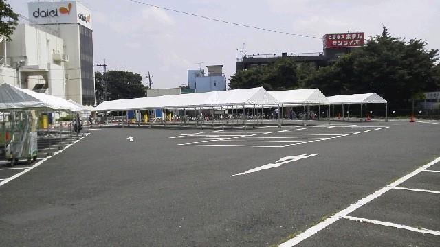 夏祭り テント