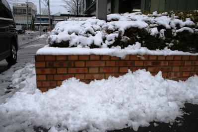 平の雪景色