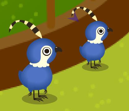 新生4羽目と3羽目のトリ