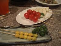 銀杏:トマト・にんにく