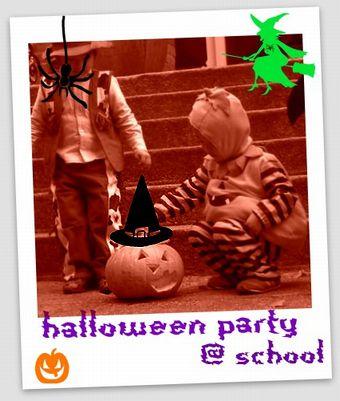 Halloween Party @ school