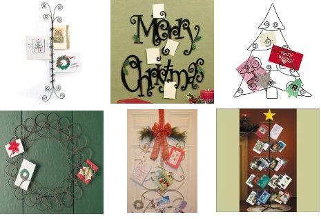 christmas card holders