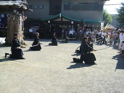 天然理心流抜刀術20110918