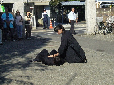 2011西光寺_天然理心流柄砕き2
