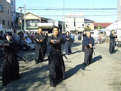 2011西光寺_天然理心流抜刀術