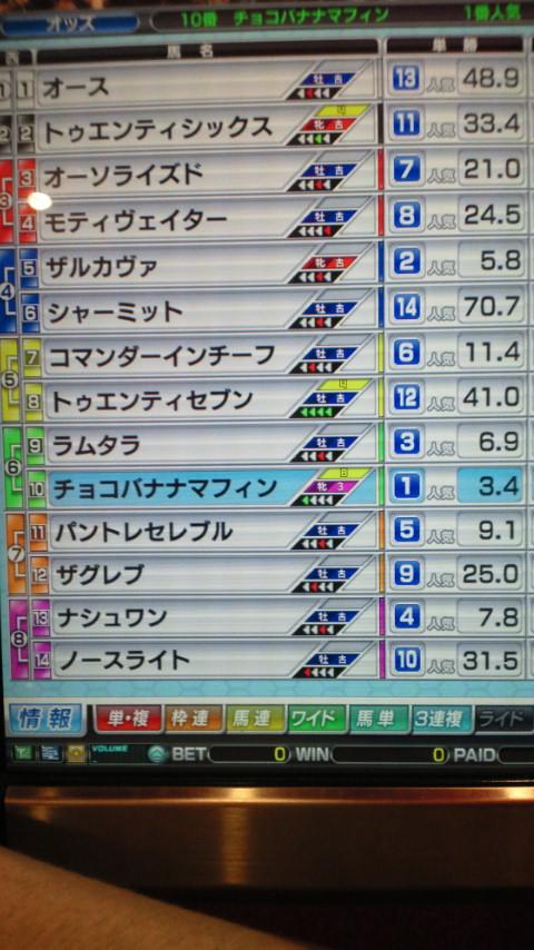 マフィン3戦目