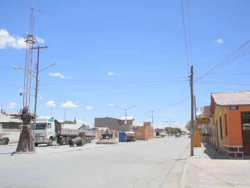 ウユニの街並