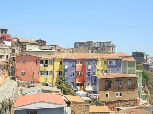 バルパライソの街並