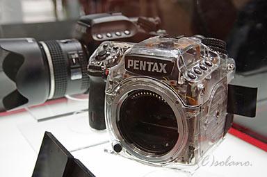 ペンタックス645Dスケルトンモデル