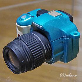 ペンタックス K-xミニチュアマスコット2(ライトグリーン)