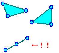 縮退三角形