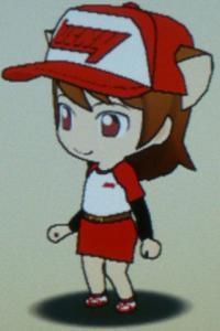 ラッキーユニフォーム(ななめ左)(女子)