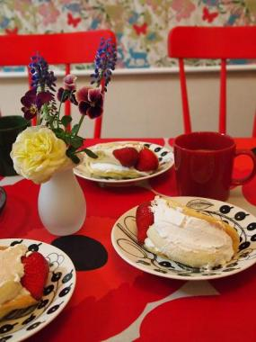 omelette cake ×paratiisi