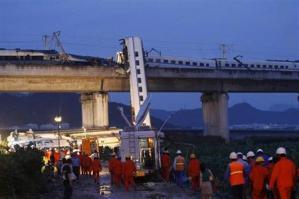 【中国高速脱線】死者32人、190人超負傷 制御装置に重大な問題か
