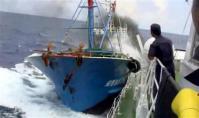 中国_動画サイト「ユーチューブ」に投稿された中国漁船衝突事件の映像(海上保安庁撮影)