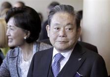 李健煕・サムスングループ会長=7月6日、AP