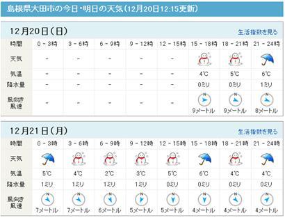 マピオン天気
