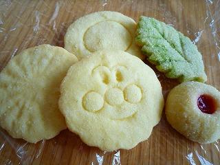 あんぱんまんクッキー