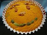 パンプキンチーズケーキ (2)