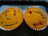 パンプキンチーズケーキ (1)
