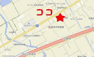 松坂国道店地図