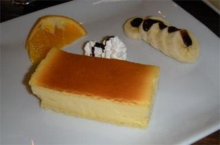 常磐街ALOHA CAFEチーズケーキ