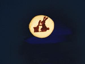 さいこ作月見クッキー