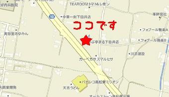 しゃぶ亭まる地図