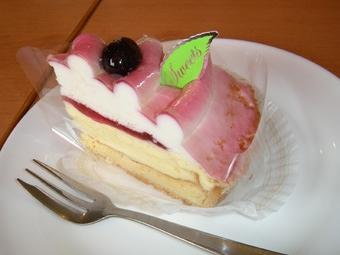 不二家レアチーズケーキ