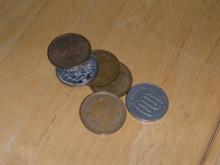 車で見つけた小銭