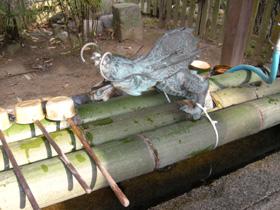 神谷神社の手水舎