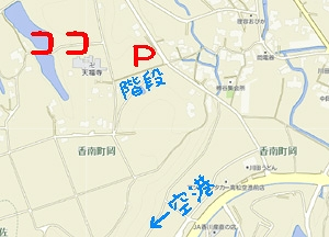 天福寺地図