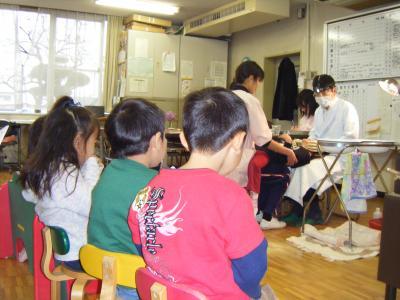 保育園の健診