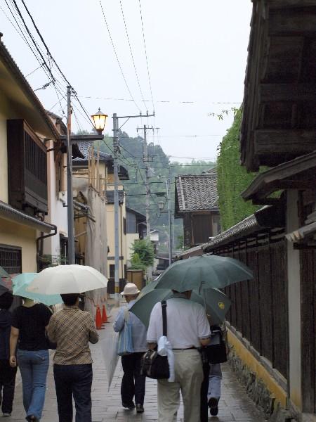 愛媛県大洲市大洲 町並み 散歩風景