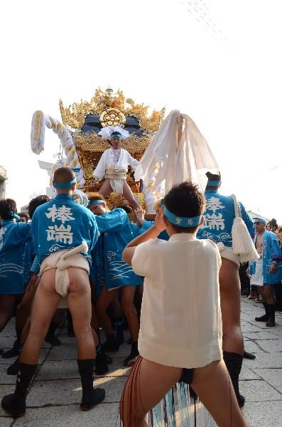 兵庫県高砂市高砂町東宮町  高砂神社の例祭  戎町屋台