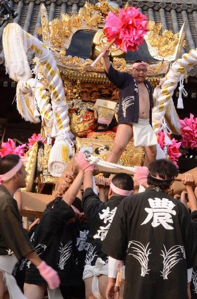 兵庫県高砂市高砂町東宮町  高砂神社の例祭   農人町