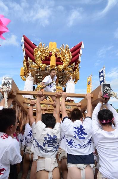 兵庫県高砂市 曽根天満宮秋祭り  高須屋台