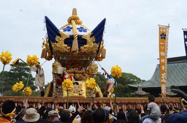 兵庫県高砂市  曽根天満宮の秋祭り   宮入 西之町