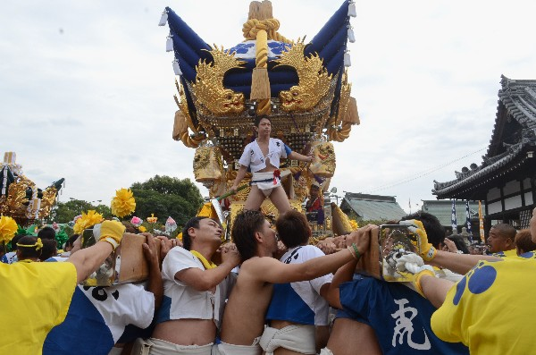 兵庫県高砂市曽根天満宮 曽根天満宮の秋祭り