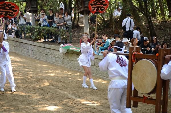 岡山県倉敷市児島下の町 鴻八幡宮例大祭 神輿