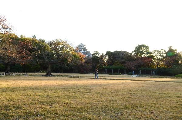 岡山県岡山市北区 後楽園 庭園風景