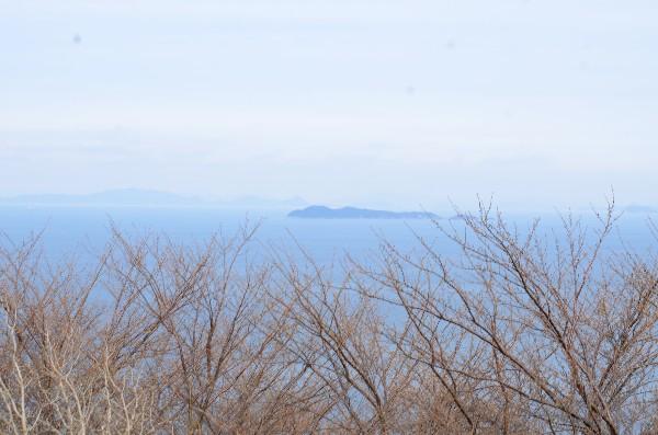 愛媛県大洲市長浜 肱川あらし展望公園 景色