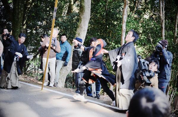 高知県 土佐秋葉祭り 練り 2013年2月11日