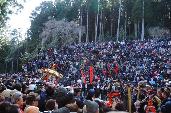 高知県 土佐秋葉祭り 秋葉神社 2013年2月11日