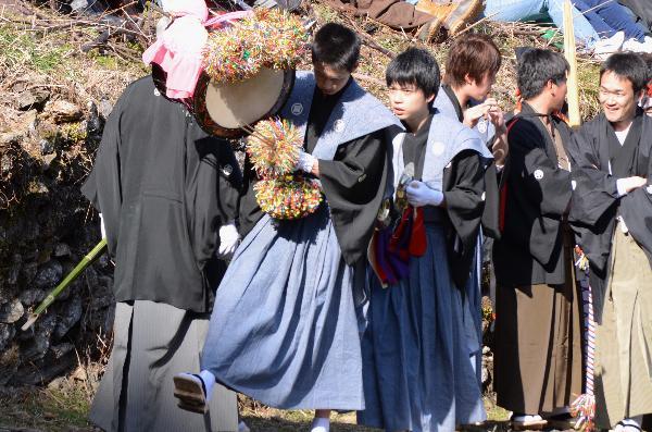 高知県 仁淀村秋葉祭り2013 中越家 練り