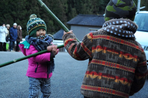仁淀川町 秋葉祭り 2月11日 子供