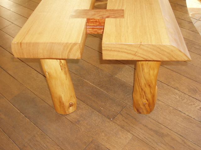 天然木テーブル3
