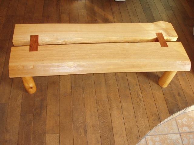 天然木テーブル1