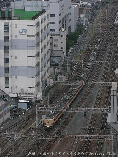 雷鳥京都駅俯瞰p