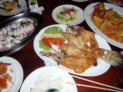 サムイ島 タールア シーフードレストラン